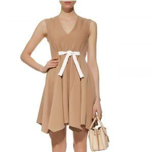 Maje V-neckline Pinafore Dress